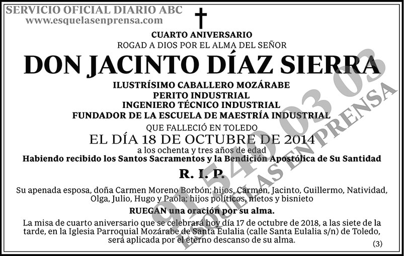 Jaciento Díaz Sierra